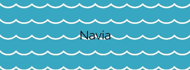 Información de la Playa Navia en Navia