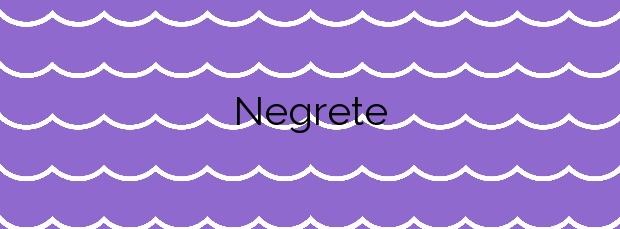 Información de la Playa Negrete en Cartagena