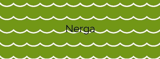 Información de la Playa Nerga en Cangas