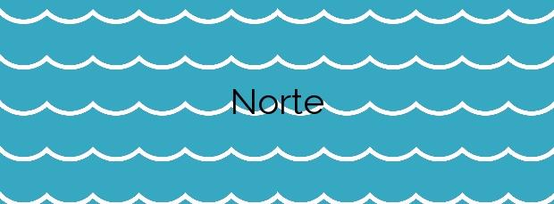 Información de la Playa Norte en Peñíscola