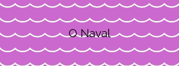 Información de la Playa O Naval en A Illa de Arousa