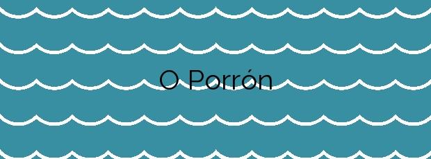Información de la Playa O Porrón en Rianxo