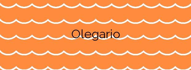 Información de la Playa Olegario en Candelaria