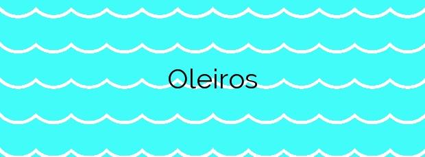 Información de la Playa Oleiros en Cudillero