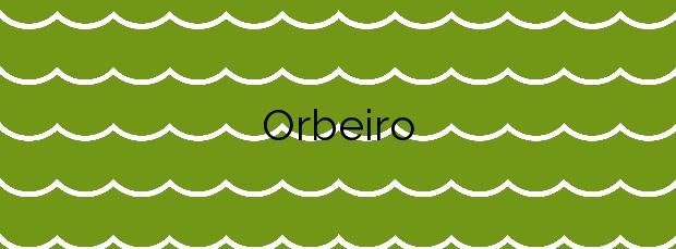 Información de la Playa Orbeiro en Ortigueira