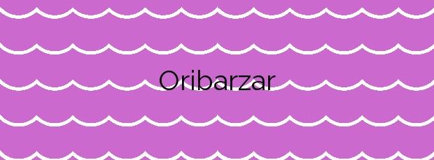 Información de la Playa Oribarzar en Orio