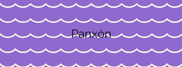 Información de la Playa Panxón en Nigrán