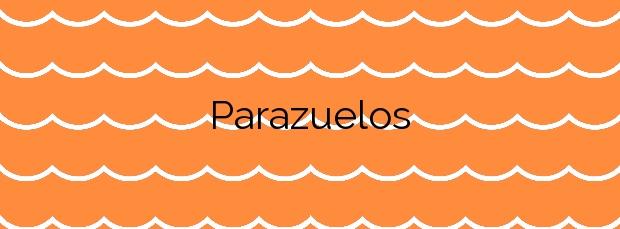 Información de la Playa Parazuelos en Mazarrón