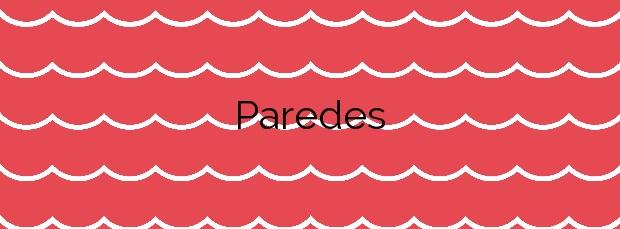 Información de la Playa Paredes en Pontedeume