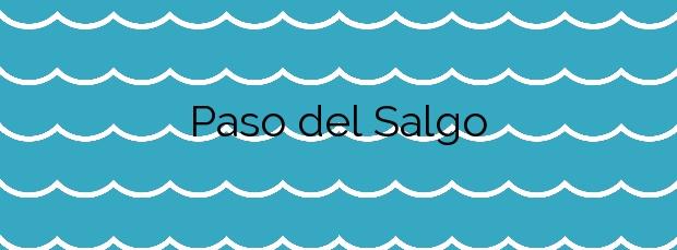 Información de la Playa Paso del Salgo en Gáldar