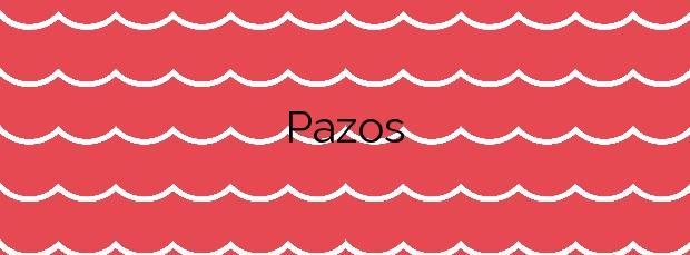 Información de la Playa Pazos en Vilaboa
