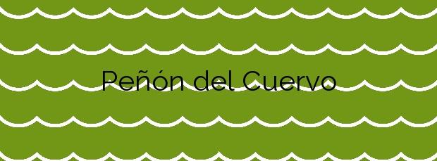 Información de la Playa Peñón del Cuervo en Málaga