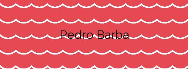 Información de la Playa Pedro Barba en Teguise