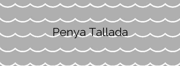 Información de la Playa Penya Tallada en Salou