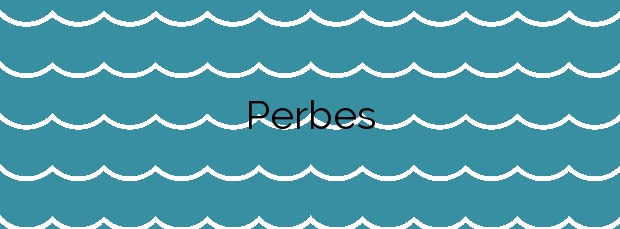 Información de la Playa Perbes en Miño