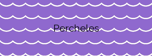 Información de la Playa Percheles en Mazarrón