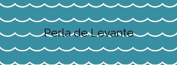 Información de la Playa Perla de Levante en Cartagena
