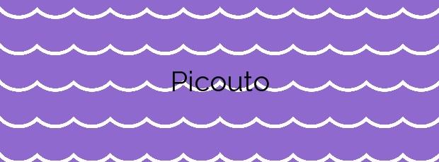 Información de la Playa Picouto en Outes
