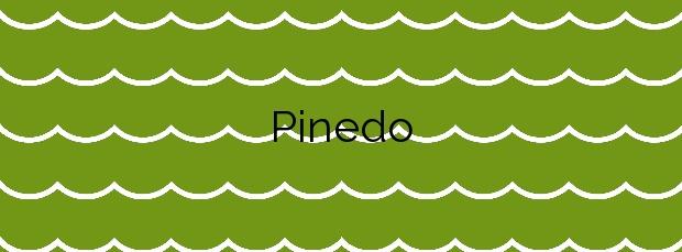 Información de la Playa Pinedo en Valencia