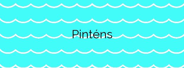 Información de la Playa Pinténs en Cangas