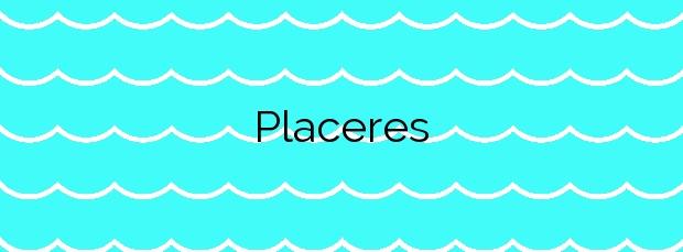 Información de la Playa Placeres en Pontevedra