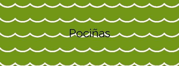 Información de la Playa Pociñas en Sanxenxo