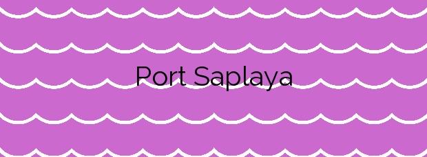 Información de la Playa Port Saplaya en Alboraya