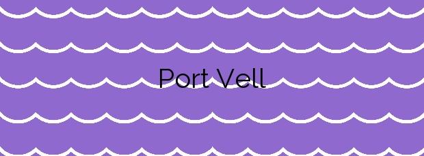 Información de la Playa Port Vell en Son Servera