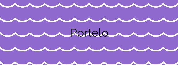 Información de la Playa Portelo en Oleiros