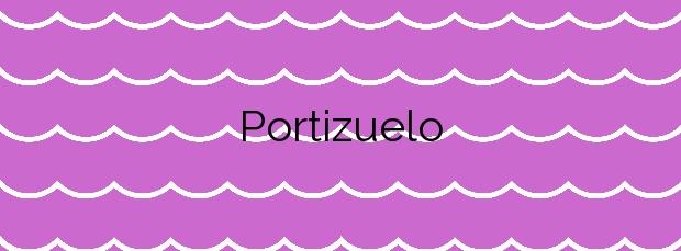 Información de la Playa Portizuelo en Valdés