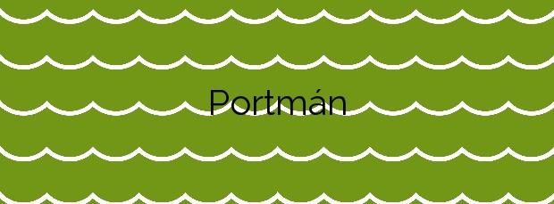 Información de la Playa Portmán en La Unión