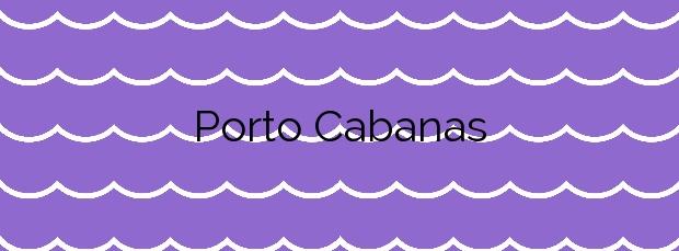 Información de la Playa Porto Cabanas en Muros