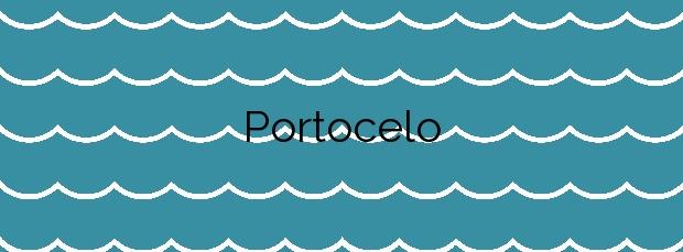 Información de la Playa Portocelo en O Rosal