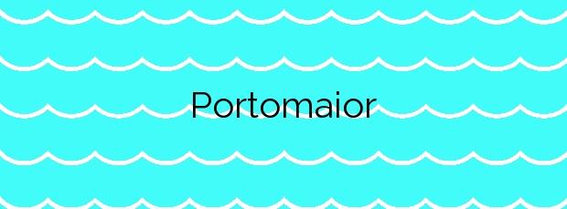 Información de la Playa Portomaior en Bueu