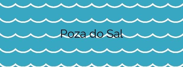 Información de la Playa Poza do Sal en A Illa de Arousa