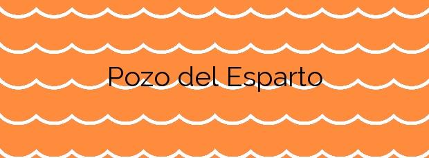 Información de la Playa Pozo del Esparto en Cuevas del Almanzora
