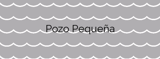 Información de la Playa Pozo Pequeña en Porto do Son