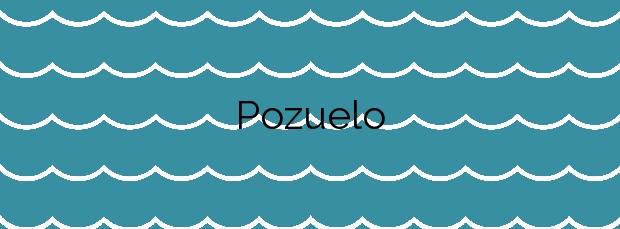 Información de la Playa Pozuelo en Albuñol