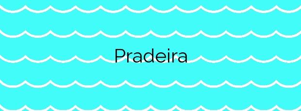 Información de la Playa Pradeira en Cambados