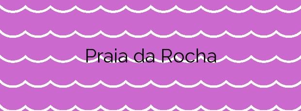 Información de la Playa Praia da Rocha en Muros