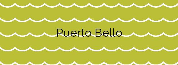 Información de la Playa Puerto Bello en Cartagena