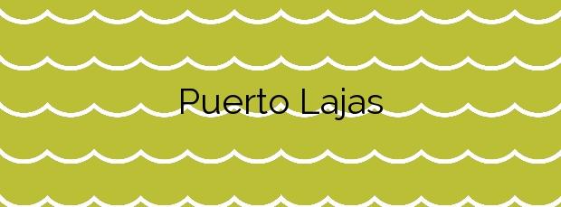 Información de la Playa Puerto Lajas en Puerto del Rosario