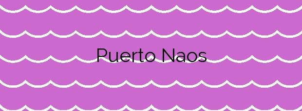 Información de la Playa Puerto Naos en Los Llanos de Aridane