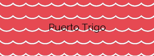 Información de la Playa Puerto Trigo en Puntallana