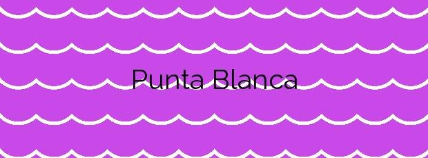 Información de la Playa Punta Blanca en Ceuta