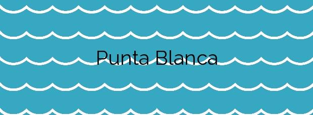 Información de la Playa Punta Blanca en La Oliva