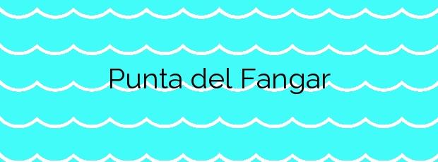 Información de la Playa Punta del Fangar en Deltebre