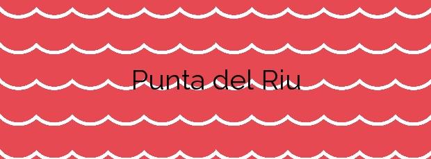 Información de la Playa Punta del Riu en El Campello
