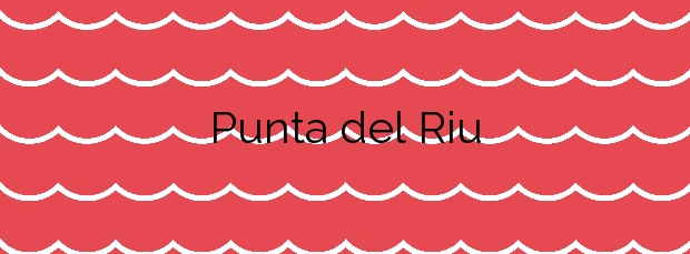 Información de la Playa Punta del Riu en Mont-roig del Camp
