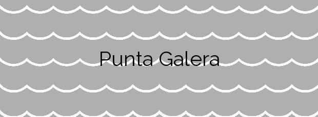 Información de la Playa Punta Galera en Banyalbufar